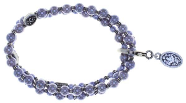 Konplott Kaleidoscope Illusion elastisches Armband in grau 5450543761725