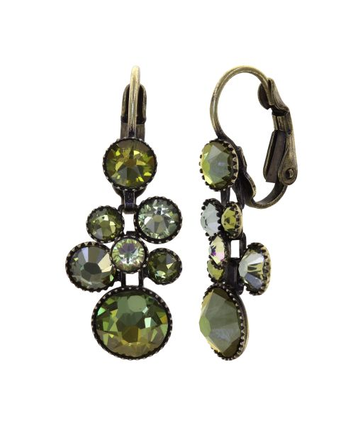 Konplott Water Cascade Ohrhänger Olive Herbs 5450543938134