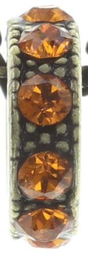 Konplott Colour Ring Halskette lang in coralline 5450543734323