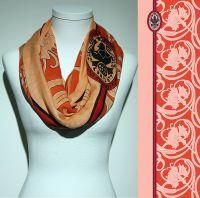 Vorschau: Konplott Schal Floral 18 in orange 5450543807133