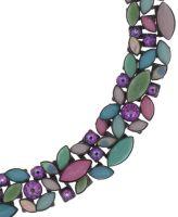 Vorschau: Konplott Dance with Navette Halskette steinbesetzt in pastel multi Silberfarben - Widerrufsware wie neu 5450543705965
