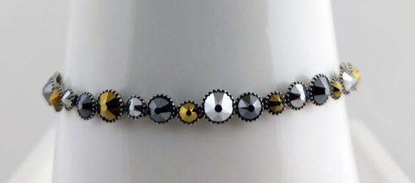 Konplott Water Cascade Armband Meteor schwarz/braun 5450543814131