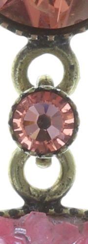 Konplott Studio 54 Ohrstecker in pink Messing Größe M 5450543748740