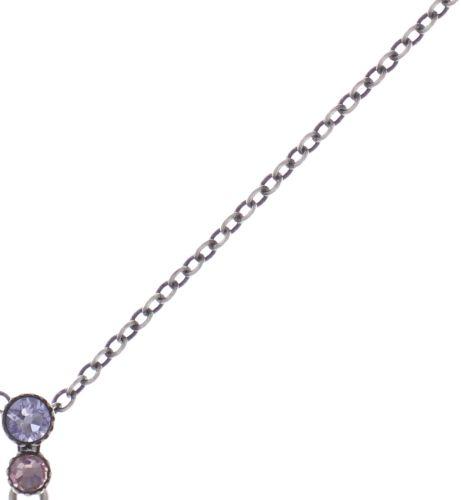 Konplott Water Cascade Halskette mit Anhänger in lila 5450543721750