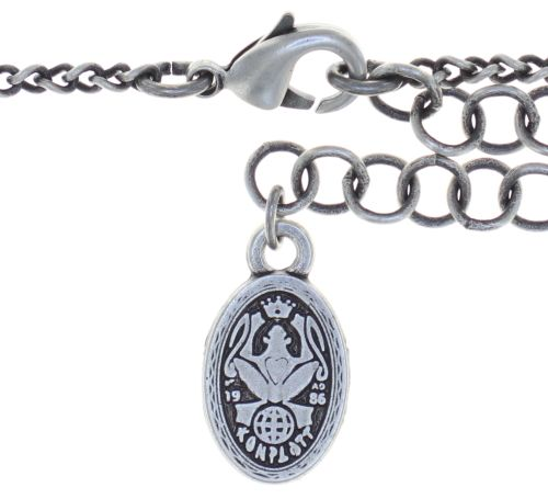 Konplott Snow White Halskette mit Anhänger in in rot Größe M 5450543757360