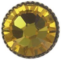 Vorschau: Konplott Black Jack Ohrstecker klassisch groß in yellow sunflower 5450543278292