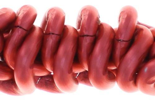 Konplott Bead Snakes elastisches Armband in Rot 5450543788036