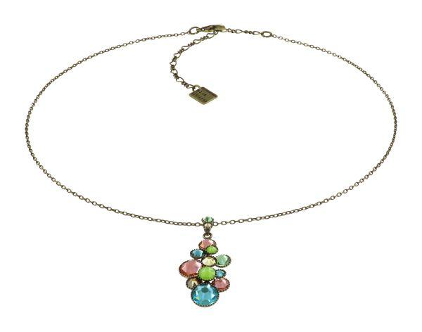 Konplott Water Cascade Halskette in Alicia's Rococo multi 5450543907710