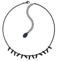 Vorschau: Konplott Jumping Baguette Halskette Deepest Black 5450543861227
