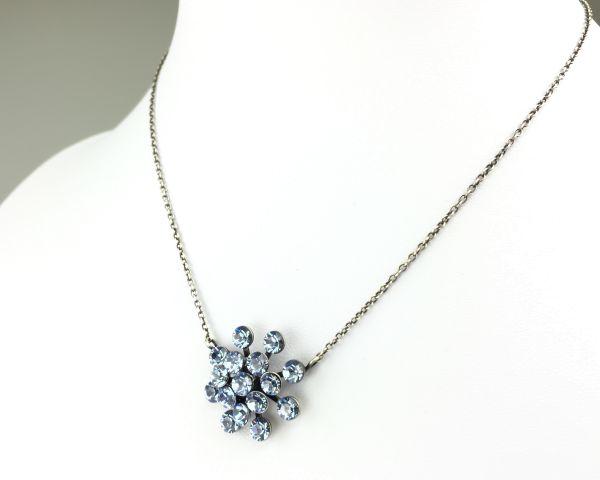 Konplott Magic Fireball Halskette mit Anhänger in light sapphire, hellblau 5450527612012