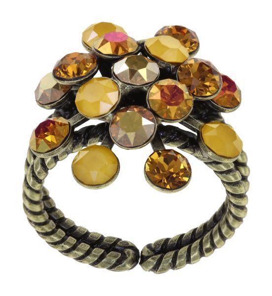 Konplott Magic Fireball Ring in gelb Classic Size 5450543903996