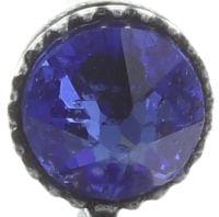 Vorschau: Konplott Colour Ring Ohrstecker hängend in blau sapphire 5450543749211