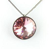 Konplott Rivoli light rose Halskette mit Anhänger 5450527640862