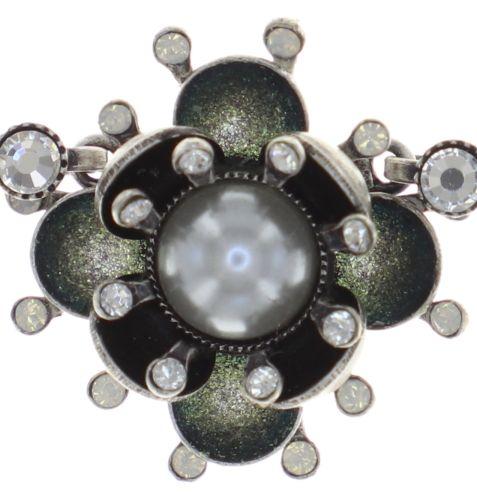 Konplott Petit Fleur de Bloom Halskette in dragonfly grau 5450543855554