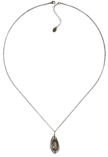 Konplott Amazonia lange Halskette mit Anhänger in beige, Größe L 5450543753683