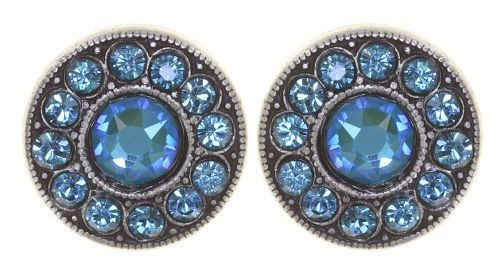 Konplott Spell on You Ohrstecker in blau/grün antique 5450543859996