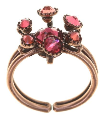 Konplott Alien Caviar Ring Forever Red 5450543895772