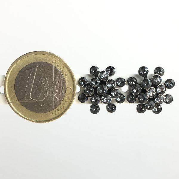 Konplott Magic Fireball grau crystal silver Ohrstecker mini 5450543656281
