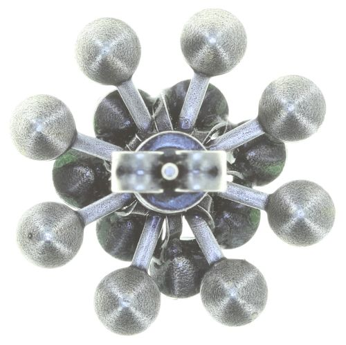 Konplott Magic Fireball Ohrstecker klassisch in grün 5450543765952