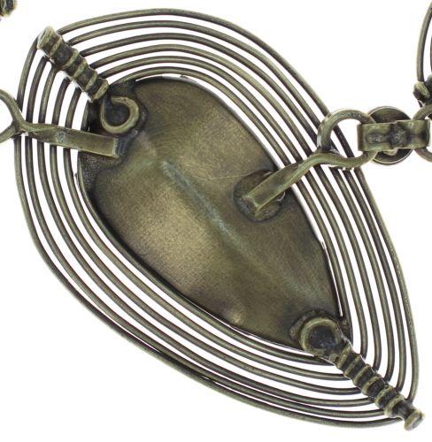 Konplott Amazonia Halskette in blau/grün 5450543750866
