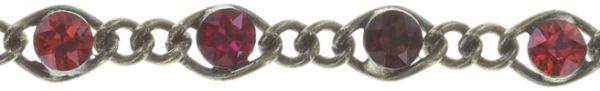 Konplott Magic Fireball Armband dunkelrot/ hellrot mini 5450543683201