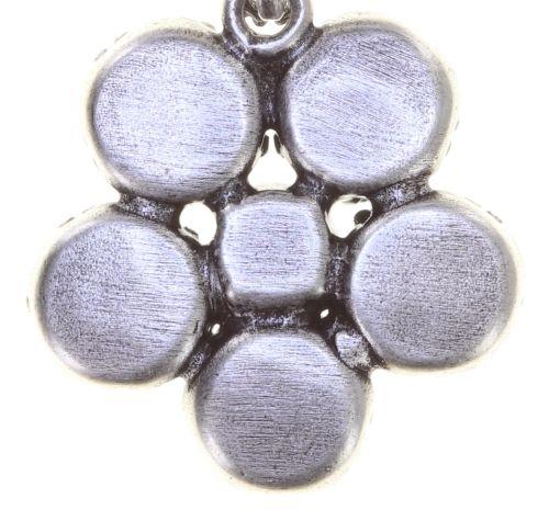 Konplott Twisted Flower Ohrstecker hängend in braun 5450543775357