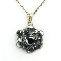 Vorschau: Konplott Bended Lights Halskette mit Anhänger in Schwarz 5450527758970