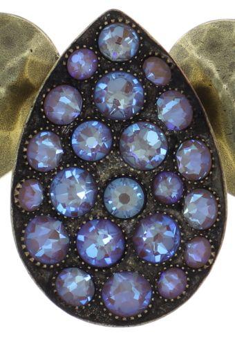 Konplott Tears of Joy Collier in braun crystal cappucci 5450543763408