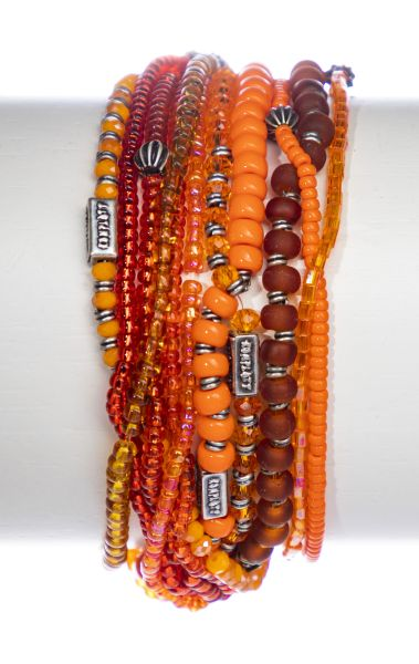 Konplott Petit Glamour d'Afrique Armband in orange antique 5450543865164