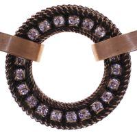 Vorschau: Konplott Rock 'n' Glam Halskette in lila light amethyst - Widerrufsware, wie neu 5450543776811