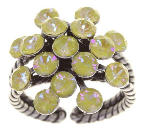 Konplott Magic Fireball Ring klassisch in lemon jelly crystal sunshine de lite 5450543852850