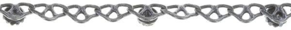 Konplott Festival Anklet Fußkette hellgrün Silberfarben 5450543747408