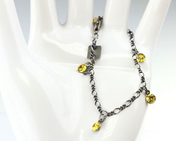 Konplott Tutui light topaz Armband verschließbar, gelb 5450527641364