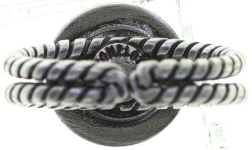 Konplott Simply Beautiful Ring in schwarz 5450543745411