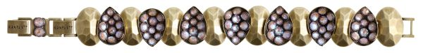 Konplott Tears of Joy Armband in braun crystal cappucci Größe M 5450543763446