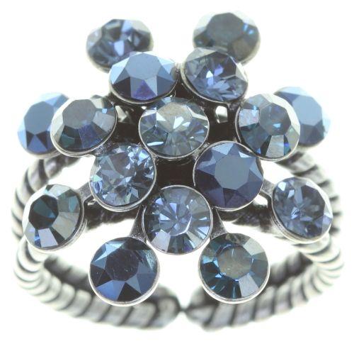 Konplott Magic Fireball Ring in blau 5450543765761