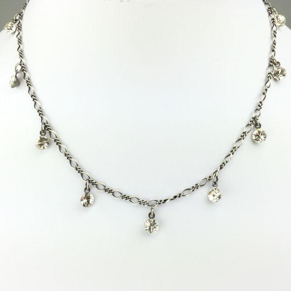 Tutui crystal Halskette steinbesetzt