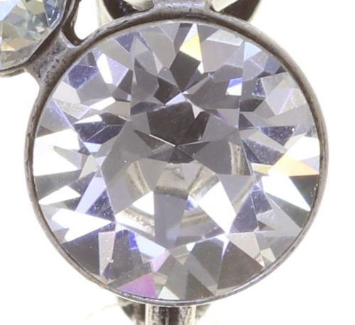 Konplott Disco Star Ohrclip in icy weiß 5450543854823