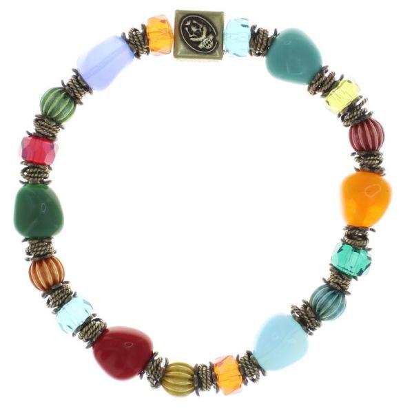 Konplott Tropical Candy elastisches Armband - Multifarben 5450543799834