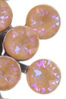 Vorschau: Konplott Magic Fireball Ohrstecker klassisch in apricot de glace crystal peach de lite 5450543797304