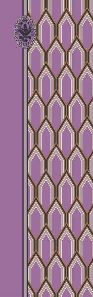 Konplott Schal Geometrisch 9 in lila 5450543806938