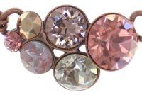 Vorschau: Konplott Petit Glamour steinbesetzte Halskette in pink 5450543766454