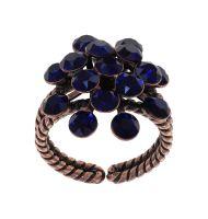 Konplott Magic Fireball Ring Night Blue in Classic Size 5450543936468