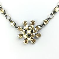 Vorschau: Konplott Magic Fireball Halskette steinbesetzt mit Anhänger in crystal golden shadow 5450527640039