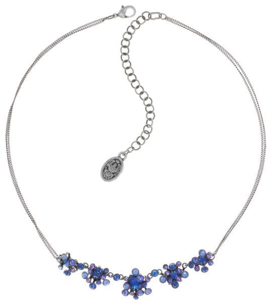 Konplott Alien Caviar Blue Water Halskette blau 5450543888354