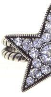 Vorschau: Konplott Dancing Star Ring in weiß Größe M - Widerrufsware, wie neu 5450543774862