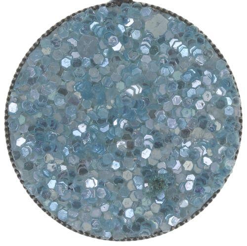 Konplott Studio 54 Ohrring in hellblau Silberfarben Größe M 5450543748405