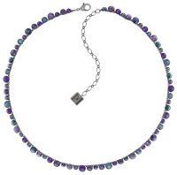 Vorschau: Konplott Water Cascade steinbesetzte Halskette in lila 5450543772981