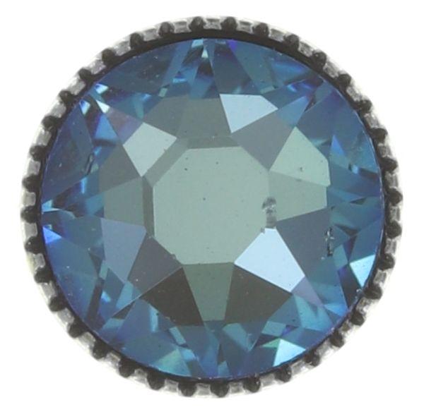 Konplott Black Jack Ohrstecker groß in blau crystal army grün 5450543768786