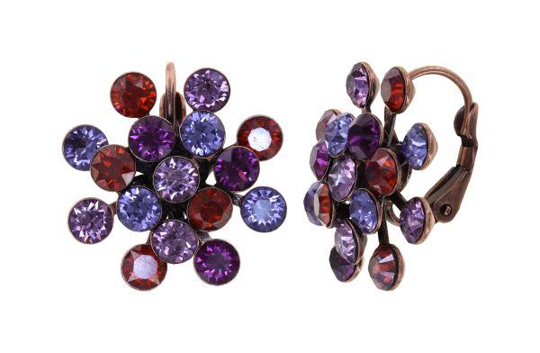 Konplott Magic Fireball Ohrhänger Ruby Violet in Classic Size 5450543936598